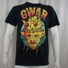 Authentic-GWAR-Band-Planet-Oderus-T-Shirt-S-M-L-XL-XXL-NEW