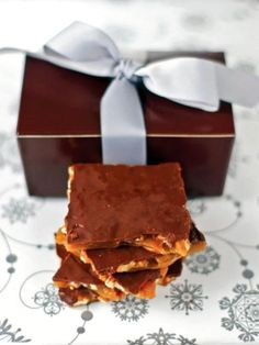 The entertaining experts at HGTV.com share a recipe for mouthwatering, homemade maple nut toffee made with real maple syrup.