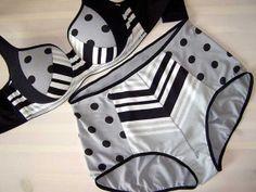 Art Deco Style Bra - Make Bra