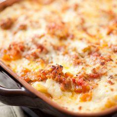 ... love sausage lasagna sausage lasagna italian sausage and three cheese