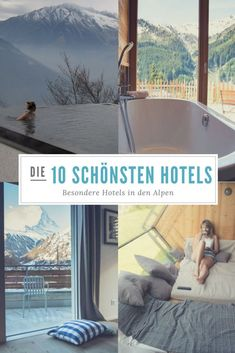 10 of the most beautiful mountain hotels in the Alps- 10 der schönsten Berghotels in den Alpen I love beautiful things and special places. Both are combined in these ten mountain lodgings. Some have a big one, others … - Bergen, Romantic Honeymoon, Romantic Travel, New Travel, Luxury Travel, Bangkok, Versailles, Design Living Room, Destination Voyage