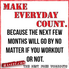 workout quotes poster