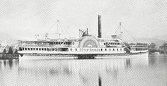 Vintage photo of Lake George steamboat HORICON docked at Lake George Village circa From this photo, shipmodel plans were rendered to build a detailed scale model of this attractive vessel at = Lake George Village, Steamboats, Nautical Art, Model Ships, Scale Model, Wood Sculpture, Victorian Era, Vintage Photos, Sailing