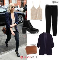 #GetTheLook Copy the look of Jennifer Lawrence with items you can get at our #SiamMall