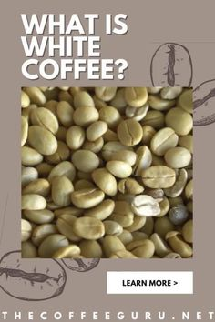 Hey, freeze! it's not what you're thinking. White coffee is not a variation of flat white nor a coffee drink with milk. It's a coffee that's prepared under a lower roasting temperature. This delicious coffee has a nutty taste and is also known as Yemen coffee. Curious? Read on to know more about this traditional coffee drink. #yemencoffee #whitecoffee #whatiscoffee #nuttycoffee #typesofcoffeebeans Coffee Tasting, Coffee Drinks, Types Of Coffee Beans, Coffee Brewing Methods, Arabica Coffee Beans, Coffee Facts, Best Coffee Maker, Coffee Type, Dark Roast