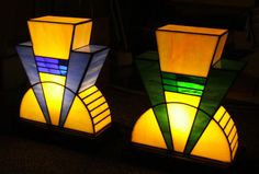Art Deco styled lamps have been reproduced from the lamps at The Rex Cinema by Dean Watts
