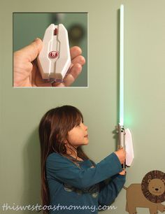 Check out Uncle Milton's Star Wars Science Lightsaber Room Light (with remote) - fun for every young padawan! Star Wars Light Saber, Party Hacks, Room Lights, Lightsaber, Pretty Cool, Remote, Science, Stars, Check