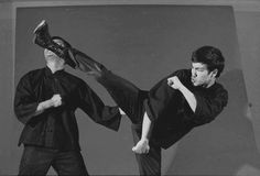 Bruce Lee and Danny Inosanto