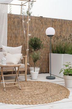 Outdoor Spaces, Outdoor Living, Outdoor Decor, Garden In The Woods, Home And Garden, Scandinavian Garden, Balkon Design, Garden Inspiration, Exterior Design