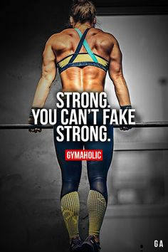 Strong. More motivation