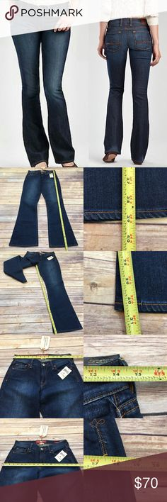 NWT Sz 6/28 Lucky Brand Curvy Sofia Boot Cut Jeans Measurements are in photos. NWT, no flaws. A4  I do not comment to my buyers after purchases, due to their privacy. If you would like any reassurance after your purchase that I did receive your order, please feel free to comment on the listing and I will promptly respond.   I ship everyday and I always package safely. Thank you for shopping my closet! Lucky Brand Jeans Boot Cut