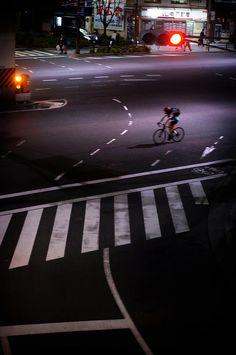The Loneliness of the Cyclist. Tokyo By Jürgen Bürgin.