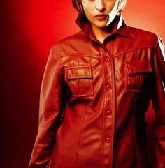 PVC shirt. Pvc Fabric, Sewing Notions, Leather Jacket, Shirts, Studded Leather Jacket, Leather Jackets, Dress Shirts, Shirt