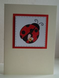 SALE! Ladybird Card by Phoenix Projects