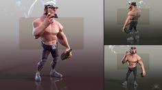 Wolverine 3D, Ivan Gaskell on ArtStation at https://www.artstation.com/artwork/wolverine-3d
