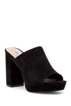 547700e3308d Image of Steve Madden Tavish Platform Sandal Women s Mules