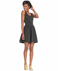 MAQCYS Bar III Dress, Sleeveless Jacquard Fit & Flare