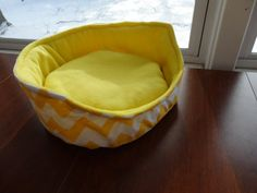 Pet bed Cuddle Cup Guinea Pig Bed Sunshine Pet Bed bed by SewCat