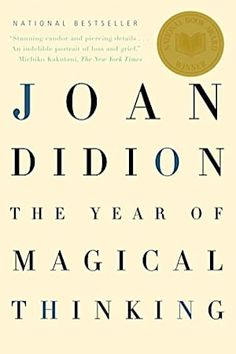 Looking for nonfiction book ideas? Check out this list of inspirational books worth reading, including The Year of Magical Thinking by Joan Didion. Reading Lists, Book Lists, Reading Habits, Reading Time, Reading Nook, Vanessa Redgrave, Books Everyone Should Read, Books To Read In Your 20s, Magical Thinking