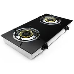 XtremepowerUS Deluxe Propane Gas Range Stove 2 Burner Tempered Glass Cooktop Auto Ignition  http://www.amazon.com/gp/product/B0151ZK9TU