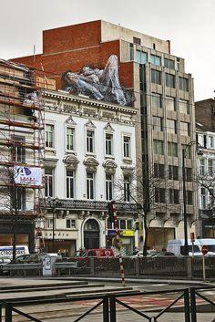 street art avenue louise Bruxelles. Home sweet home♥ Beautiful memories !