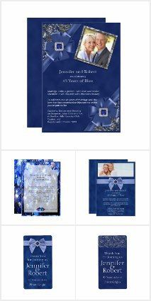 Beautiful 45th Wedding Anniversary Sapphire Gifts and Party Ware Personalized http://www.leahg.me/45th-wedding-anniversary-sapphire-gifts-personalized/ #sapphirewedding #45thanniversary