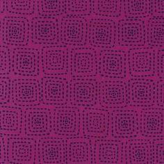 Michael Miller House Designer - Mod Basics - Stitch Square in Jewel *many coordinating colorways