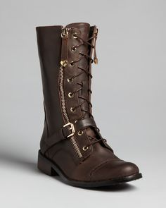 Love Moschino Lace Up Boots | Bloomingdale's