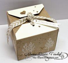 A La Pause: Insta Boîte Fermeture à Volets - Gift Box Punch Bo...