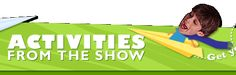 PBS Kids-Zoom tv show. Great source for a variety of activites including art and science