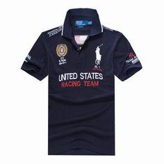 Polo Sale Ralph Lauren USA Racing Team Polo In Navy Polo Sale ea0884e1561c