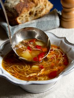 Chicken Soup Recipe...low carb and delicious