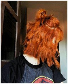 Cheveux Oranges, Ginger Hair Color, Bobs For Thin Hair, Red Hair Bobs, Straight Hair, Langer Bob, Aesthetic Hair, Orange Aesthetic, Long Bob Hairstyles
