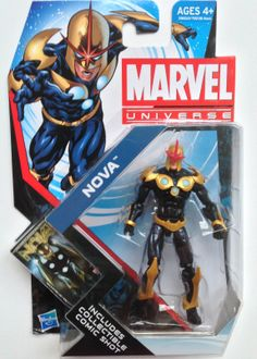 marvel universe action figures | Marvel Universe Nova Action Figure Review Wave 21 - Marvel Toy News
