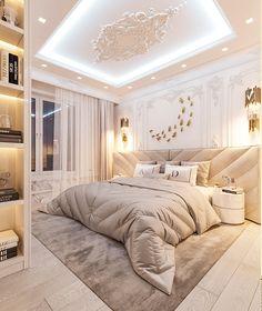 Modern Luxury Bedroom, Master Bedroom Interior, Home Room Design, Master Bedroom Design, Dream Home Design, Luxurious Bedrooms, Home Decor Bedroom, Home Interior Design, Dream House Interior