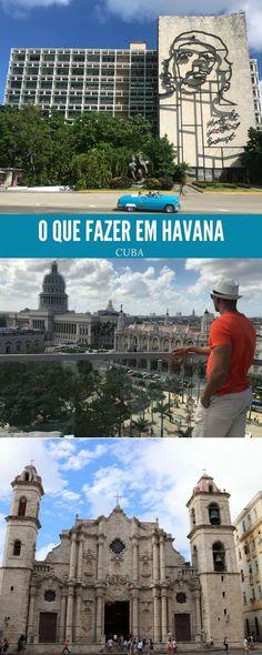 Dicas de o que fazer em Havana, incluindo os principais pontos de interesse da cidade, passeios, restaurantes, baladas, etc. Seu roteiro de 2 ou 3 dias em Havana será preenchido com locais fascinantes para visitar e coisas extraordinárias para ver.