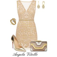 A fashion look from December 2016 featuring Nicole Miller dresses, Christian Louboutin pumps and BCBGMAXAZRIA clutches. Browse and shop related looks.