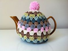 Crochet Tea Cosy, vintage style