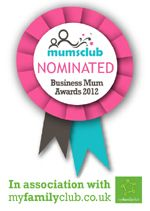 Chelle has been nominated for Expert in her field so GET VOTING! Business Mum Awards 2012