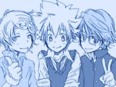 """This picture reminds me of the fanfiction """"Odd job tsuna"""" or something like that but it's awesome :)"""