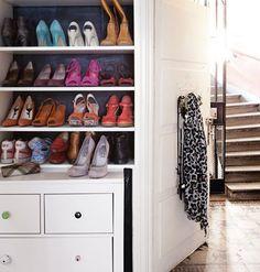 Shoes storage.