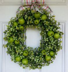 Boxwood Wreath Summer Wreath Spring Wreath by SimplySundayShop