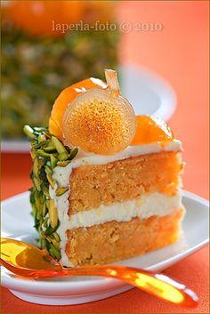 Pistachio Carrot Cake.