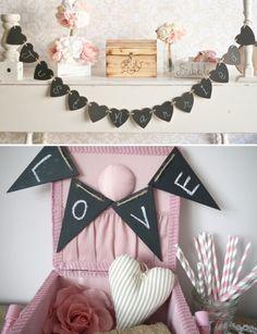 ideas para bodas con pizarras