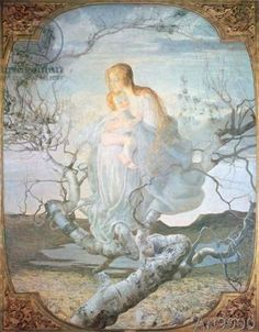 Giovanni Segantini - The Angel of Life
