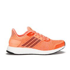 58dad79fe7d22 Adidas Ultra Boost ST Womens Orange Sneakers Running Road Sports Shoes  Trainers