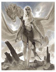 Daenerys by Mahmud Asrar