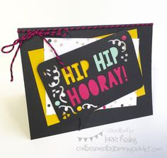 weSTAMP Regionals Project #2 :: Confessions of a Stamping Addict Inside of card Lorri Heiling It's My Party Party Pop Up Thinlit Die