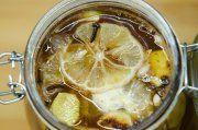 Zázračný zázvorový sirup s citronem a medem   Pleva Ginger Syrup, Ginger And Honey, Lemon Juice Cleanse, Cinnamon Tea, Cinnamon Syrup, Honey Cosmetics, Bone Cancer, Alzheimer's And Dementia