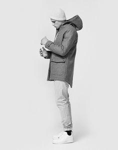 #blackandwhite #gent #winterwear